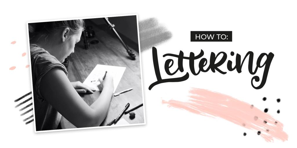 Banner Workshop Lettering, Handlettering, Brushlettering, Daun, Eifel, Rheinlandpfalz